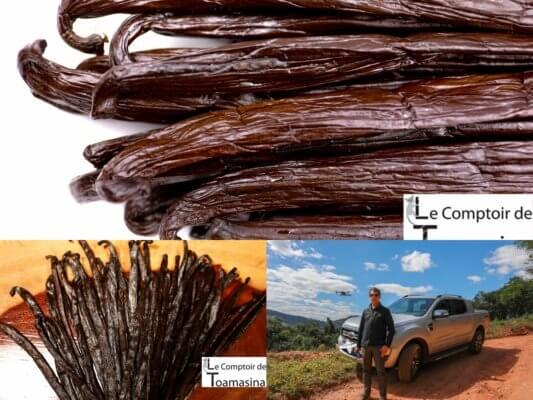 meilleur vanille du monde - Arnaud, Georges, danielle David, Celino les meilleures plantations de vanille