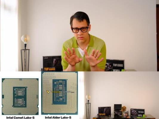 Nouveau Processeur Intel Alter Lake-S