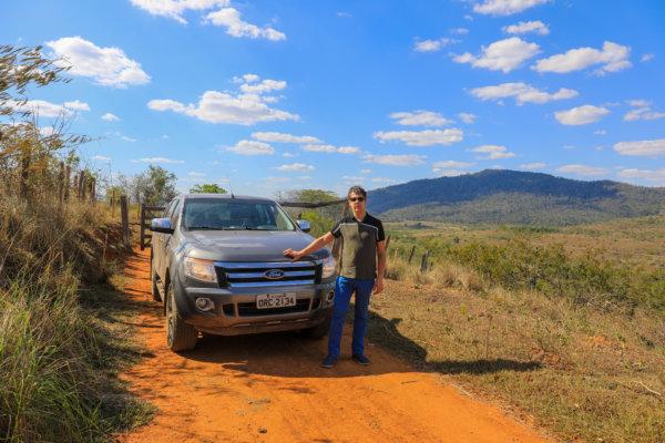 Arnaud chercheur de poivre au Brésil - Les plus beaux grains de poivre du brésil