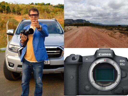 le r5c de canon - la meilleure caméra au monde