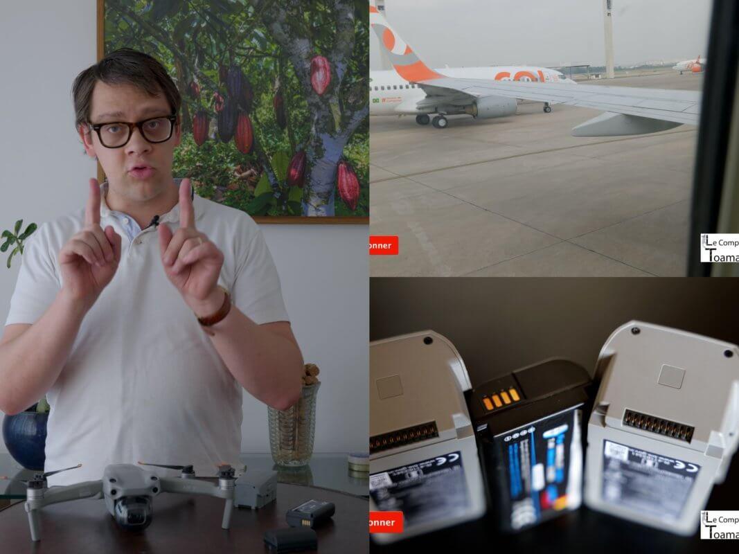 Drone, Batterie et Avion - Partie 1 - Arnaud Grand Voyageur vous explique comme il voyage